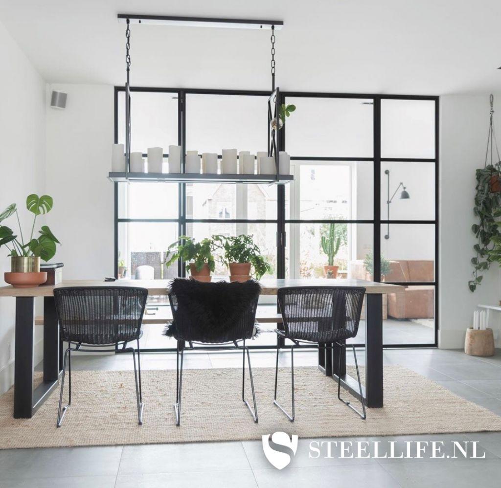 Welp Stalen deuren met glas en stalen trappen | Steellife® PT-21